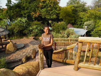 Phindiwe Nkosi at Amadwala Lodge in Roodepoort, Johannesburg. Photo by GC