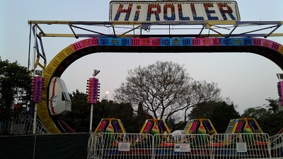 The Hi Roller Amusement Ride at Atterbury Value Mart. Photo by Phindiwe Nkosi.